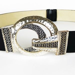 Chico's Accessories - Chico's Interlock Double Circle Belt SM